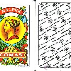 Barajas de cartas: AJUNTAMENT DE LLEIDA - BARAJA ESPAÑOLA 50 CARTAS. Lote 38584698