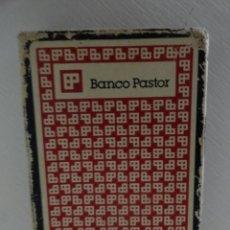 Barajas de cartas: CARTAS NAIPES BARAJAS FOURNIER -PUBLICIDAD DE BANCO PASTOR. Lote 38650902