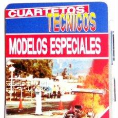 Barajas de cartas: BARAJA FOURNIER CUARTETOS TECNICOS MODELOS ESPECIALES COCHES FORMULA UNO VINTAGE. Lote 221719828