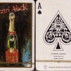 Barajas de cartas: HENRI ABELE CHAMPAGNE - BARAJA DE BRIDGE. Lote 38663007