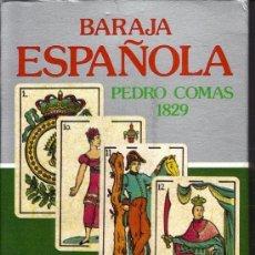 Barajas de cartas - BARAJA ESPAÑOLA PEDRO COMAS 1829 - 38673161