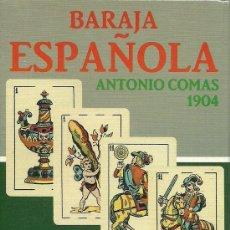 Baralhos de cartas: BARAJA ESPAÑOLA PEDRO COMAS 1904. Lote 192785682