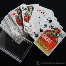 Barajas de cartas: BARAJA DE CARTAS ALEMANA BERLINER SPIELKARTEN - NAIPES PUBLICIDAD - SKAT JUGUETE JUEGO ALEMANIA. Lote 38680141
