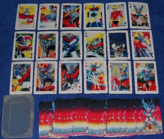 MAZINGER Z - POKER ¡IMPECABLE! (Juguetes y Juegos - Cartas y Naipes - Barajas Infantiles)