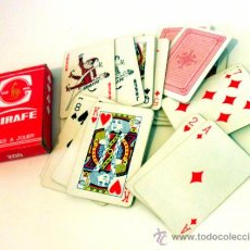 Barajas de cartas: BARAJA FRANCESA * GIRAFE * TRADE MARK 800. Lote 38783939