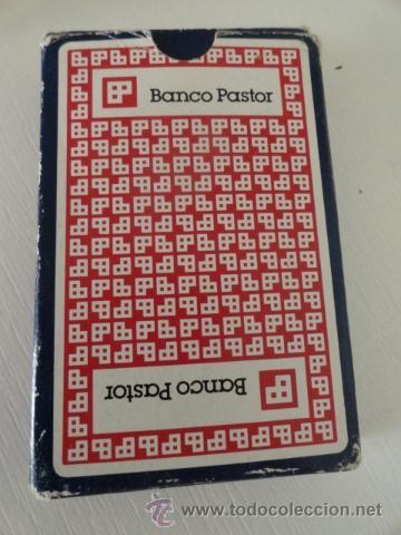 BARAJA CARTAS NAIPES FOURNIER BANCO PASTOR (Juguetes y Juegos - Cartas y Naipes - Baraja Española)