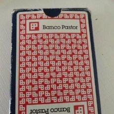 Barajas de cartas: BARAJA CARTAS NAIPES FOURNIER BANCO PASTOR. Lote 38828568