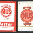 Barajas de cartas: .1 BARAJA DE ** NAIPES DE MUS LESTER ** MADE IN SPAIN NEGSA COMAS - AÑO 1994 - PRECINTADA. Lote 147300482