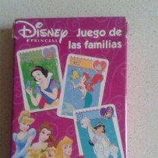 Barajas de cartas: BARAJA CARTAS FAMILIAS PRINCESAS DISNEY . Lote 38839883
