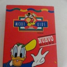 Barajas de cartas: BARAJA NAIPES FOURNIER MICKEY KIDS COMO NUEVAS 33 CARTAS. Lote 38879747