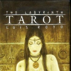 Barajas de cartas: THE LABYRINTH TAROT. Lote 38883154