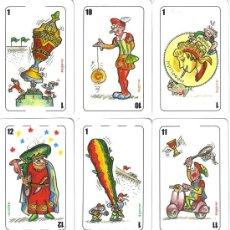Barajas de cartas: BARAJA ESPAÑOLA COMICA JA-JA,-AÑO 2013. Lote 50377719