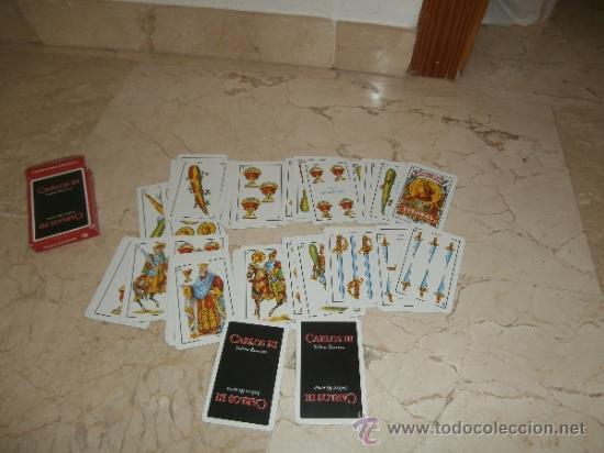 Barajas de cartas: BARAJA ESPAÑOLA PUBLICITARIA, CARLOS III, 111-1 - Foto 6 - 38924716