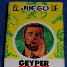 Barajas de cartas: EL JUEGO DE GEYPER MAN - EDICIONES RECREATIVAS (1979) ¡IMPECABLES!. Lote 39193599