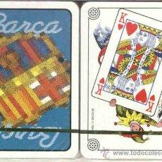 Barajas de cartas: F. C. BARCELONA BARAJA DE POKER. Lote 39139094