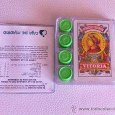 Barajas de cartas: JUEGO DE CARTAS DE MUS NUEVAS CAJA MADRID EN CAJA ORIGINAL. Lote 39199397
