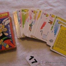 Barajas de cartas: ANTIGUAS CARTAS ASTERIX. Lote 39250419