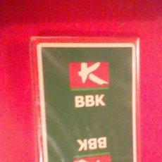 Barajas de cartas: BARAJA 40 CARTAS NAIPE ESPAÑOL PUBLICIDAD BBK BANCO PRECINTADA. Lote 39251527
