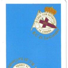 Barajas de cartas: BARAJA ESPAÑOLA REAL CLUB DEPORTIVO DE LA CORUÑA. Lote 39359189