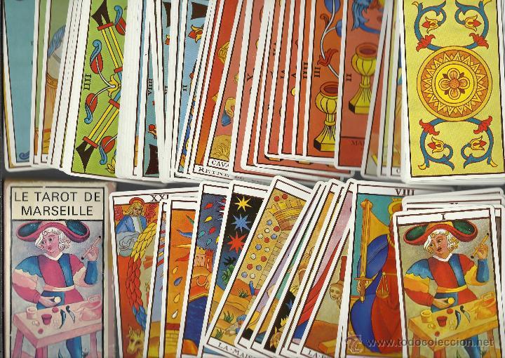 BARAJA DE EL TAROT DE MARSELLA (Juguetes y Juegos - Cartas y Naipes - Barajas Tarot)