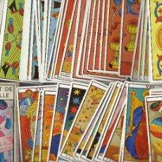 Barajas de cartas: BARAJA DE EL TAROT DE MARSELLA . Lote 42196533