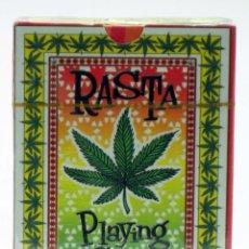 Barajas de cartas: BARAJA PÓKER RASTA PLAYING 54 CARDS MARIHUANA CANNABIS 2002 NUEVA PRECINTADA. Lote 39629137