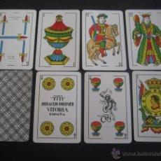 Barajas de cartas: BARAJA ESPAÑOLA FOURNIER. MODELO TITI, DEL AÑO 1962. PRECINTADA. 40 CARTAS.. Lote 43209589