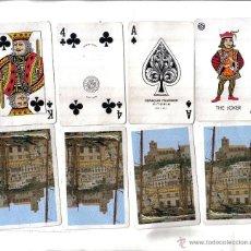 Barajas de cartas: ANTIGUA BARAJA TURISTICA CARTAS IBIZA, POKER, DOS JOKERS, CUATRO PALOS TOTAL 54 CARTAS.. Lote 39527900