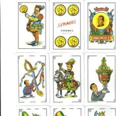 Barajas de cartas: BARAJA ESPAÑOLA CARICATURAS REVISTA EPOCA.-FOURNIER. Lote 182022073