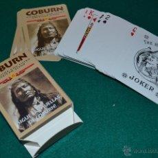 Barajas de cartas: BARAJA CARTAS POKER COBURN . Lote 39791854