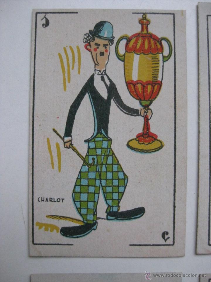 Barajas de cartas: PRECIOSA BARAJA COMICO ARTISTICA DEPORTIVA, años 1930, El reverso es Cine Manual DEL GATO FELIZ - Foto 4 - 209658851