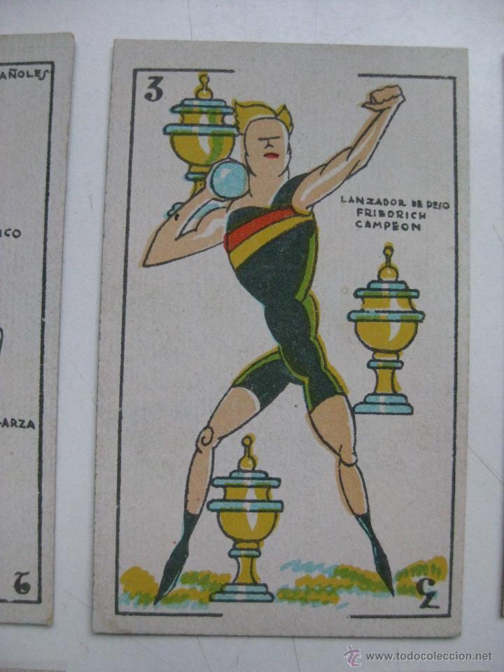 Barajas de cartas: PRECIOSA BARAJA COMICO ARTISTICA DEPORTIVA, años 1930, El reverso es Cine Manual DEL GATO FELIZ - Foto 5 - 209658851