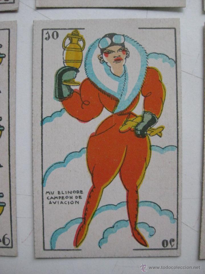 Barajas de cartas: PRECIOSA BARAJA COMICO ARTISTICA DEPORTIVA, años 1930, El reverso es Cine Manual DEL GATO FELIZ - Foto 6 - 209658851