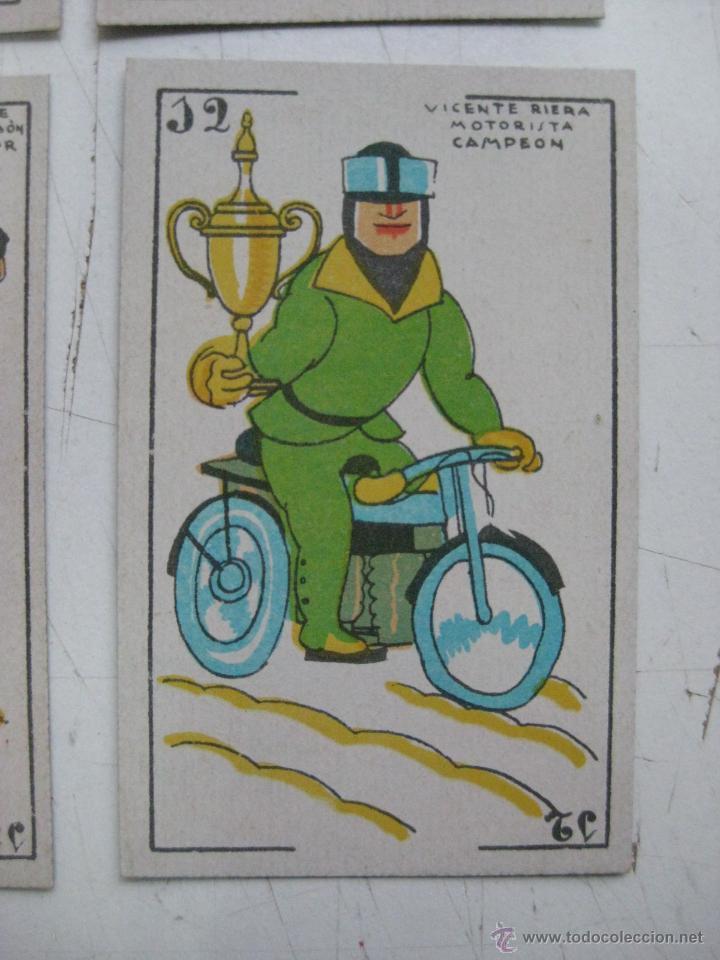 Barajas de cartas: PRECIOSA BARAJA COMICO ARTISTICA DEPORTIVA, años 1930, El reverso es Cine Manual DEL GATO FELIZ - Foto 7 - 209658851