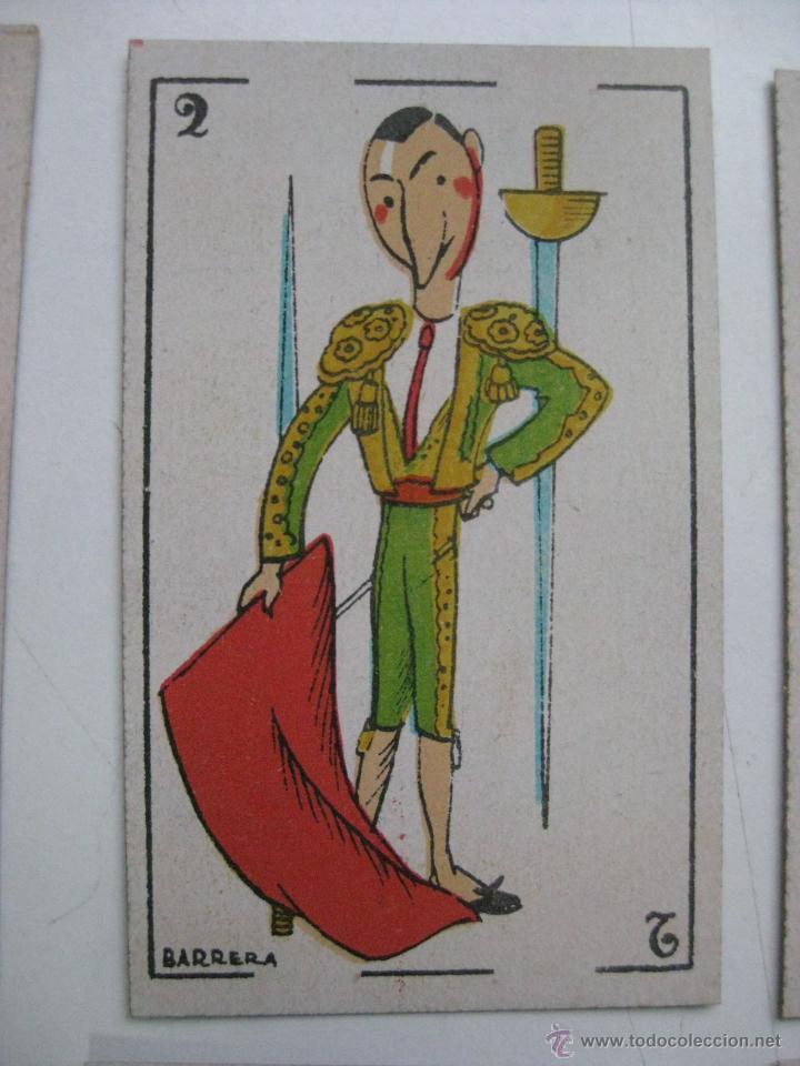 Barajas de cartas: PRECIOSA BARAJA COMICO ARTISTICA DEPORTIVA, años 1930, El reverso es Cine Manual DEL GATO FELIZ - Foto 15 - 209658851