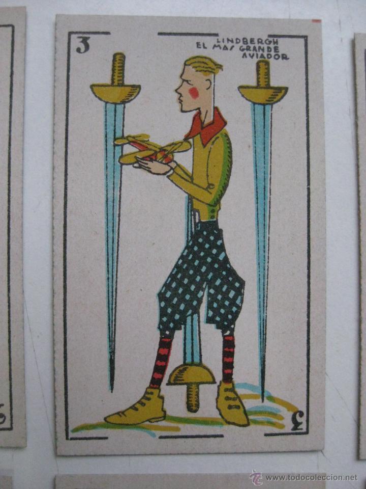 Barajas de cartas: PRECIOSA BARAJA COMICO ARTISTICA DEPORTIVA, años 1930, El reverso es Cine Manual DEL GATO FELIZ - Foto 16 - 209658851