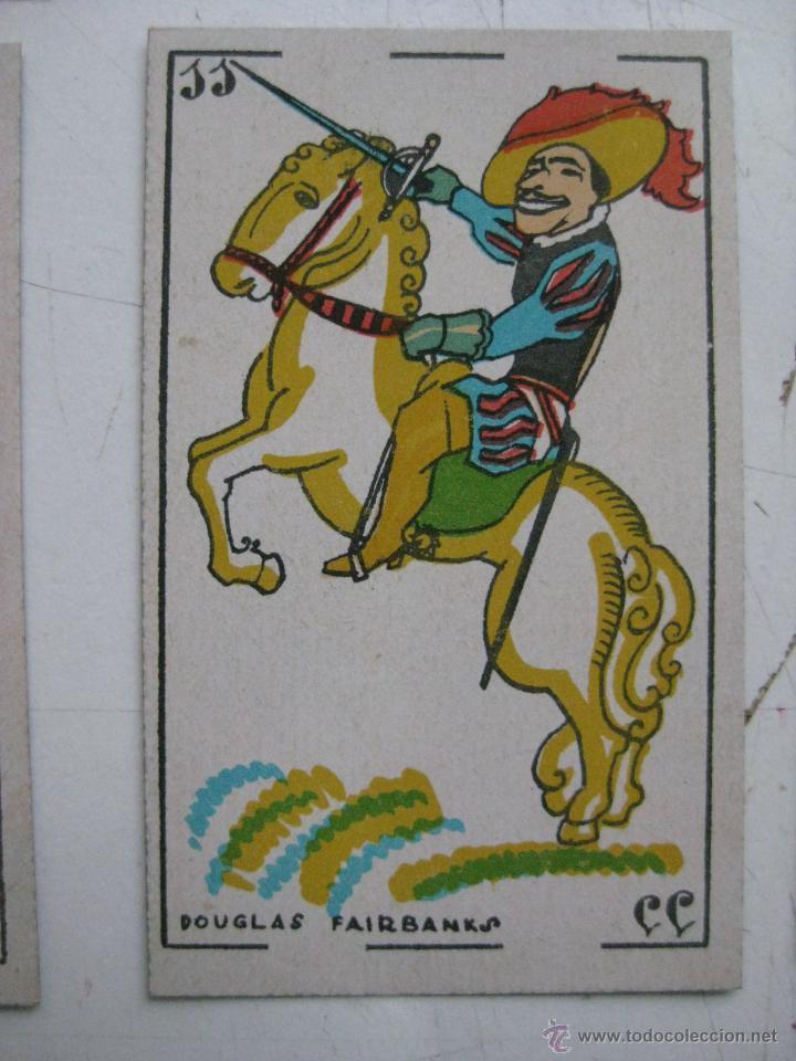 Barajas de cartas: PRECIOSA BARAJA COMICO ARTISTICA DEPORTIVA, años 1930, El reverso es Cine Manual DEL GATO FELIZ - Foto 18 - 209658851