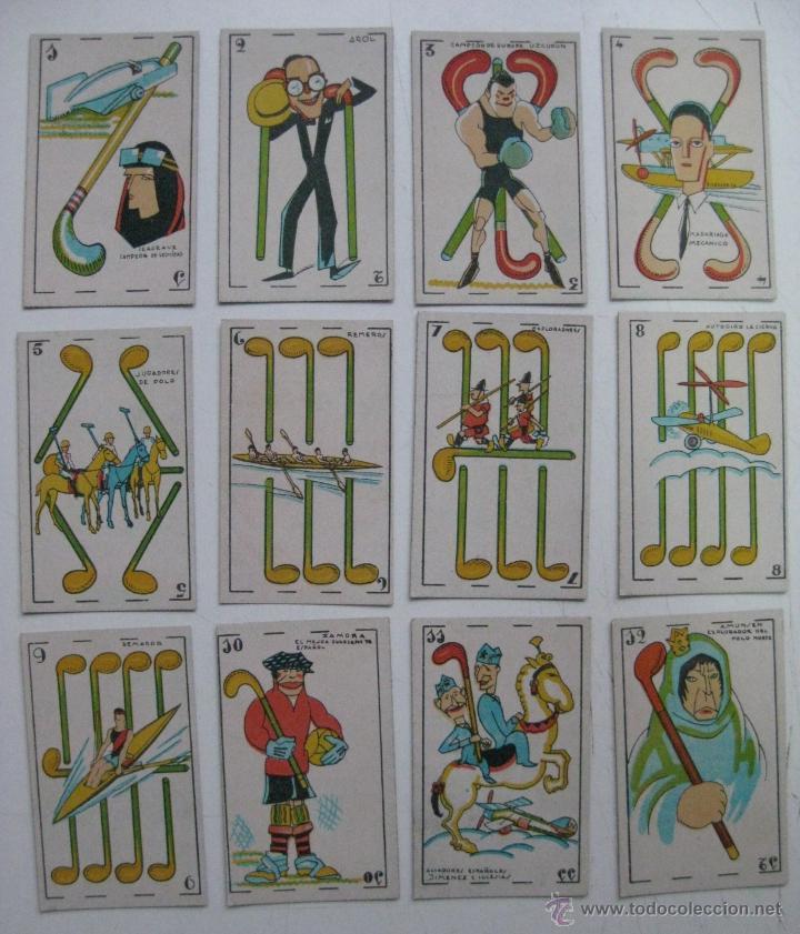 Barajas de cartas: PRECIOSA BARAJA COMICO ARTISTICA DEPORTIVA, años 1930, El reverso es Cine Manual DEL GATO FELIZ - Foto 20 - 209658851