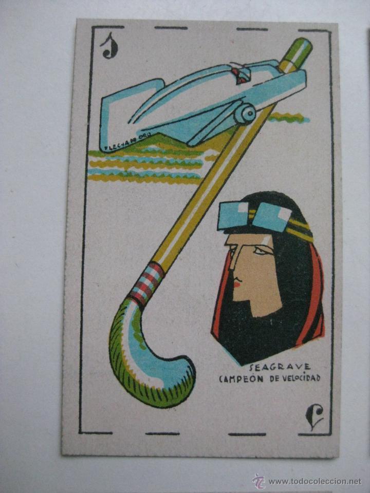 Barajas de cartas: PRECIOSA BARAJA COMICO ARTISTICA DEPORTIVA, años 1930, El reverso es Cine Manual DEL GATO FELIZ - Foto 21 - 209658851