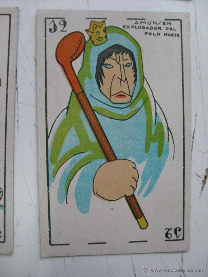 Barajas de cartas: PRECIOSA BARAJA COMICO ARTISTICA DEPORTIVA, años 1930, El reverso es Cine Manual DEL GATO FELIZ - Foto 27 - 209658851