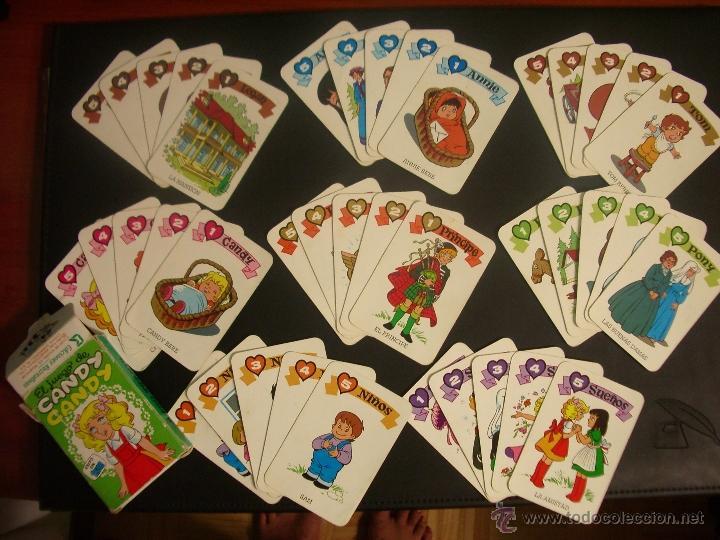 BARAJA DE CARTAS CANDY CANDY - EDICIONES RECREATIVAS 1984 (Juguetes y Juegos - Cartas y Naipes - Barajas Infantiles)