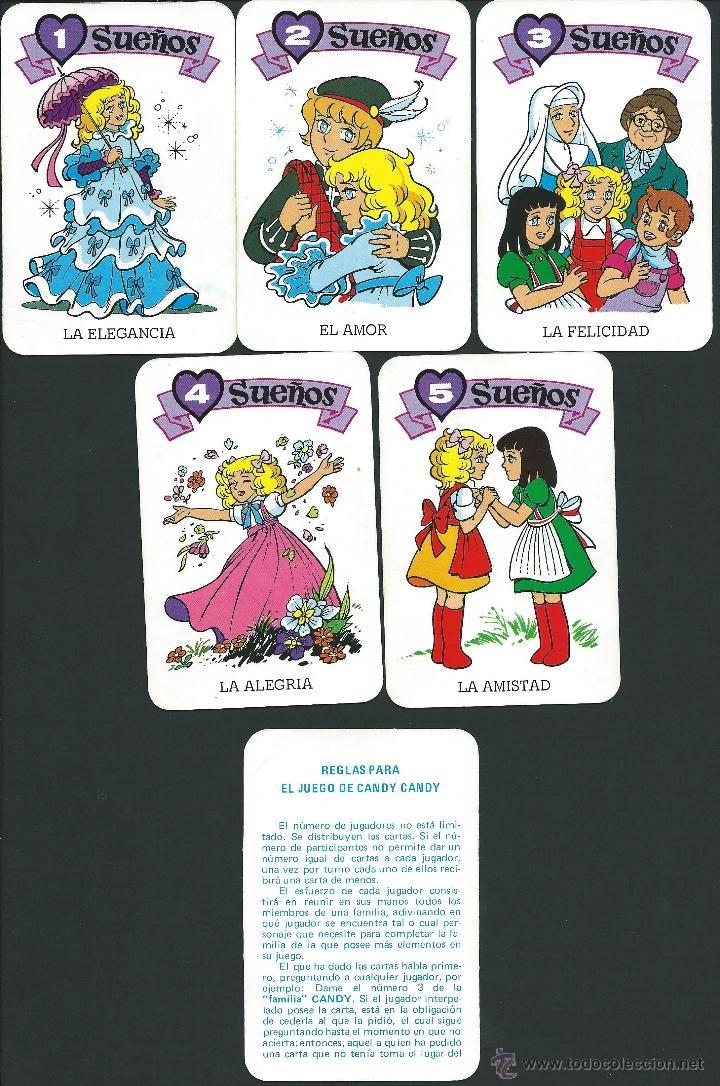 Barajas de cartas: BARAJA DE CARTAS CANDY CANDY - EDICIONES RECREATIVAS 1984 - Foto 7 - 39892601