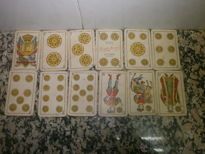 Barajas de cartas: BARAJA DE CARTAS HIJOS DE HERACLIO FOURNIER Nº 32 - Foto 2 - 40004191