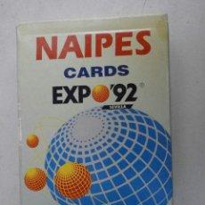 Barajas de cartas: BARAJA DE CARTAS NAIPES CARDS EXPO 92 SEVILLA BARAJACARTAS-32. Lote 93747997