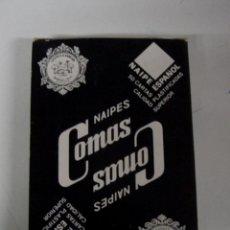 Barajas de cartas: ANTIGUA BARAJA DE CARTAS - NAIPES COMAS - 50 CARTAS - NAIPE ESPAÑOL - COMPLETA.. Lote 38264679