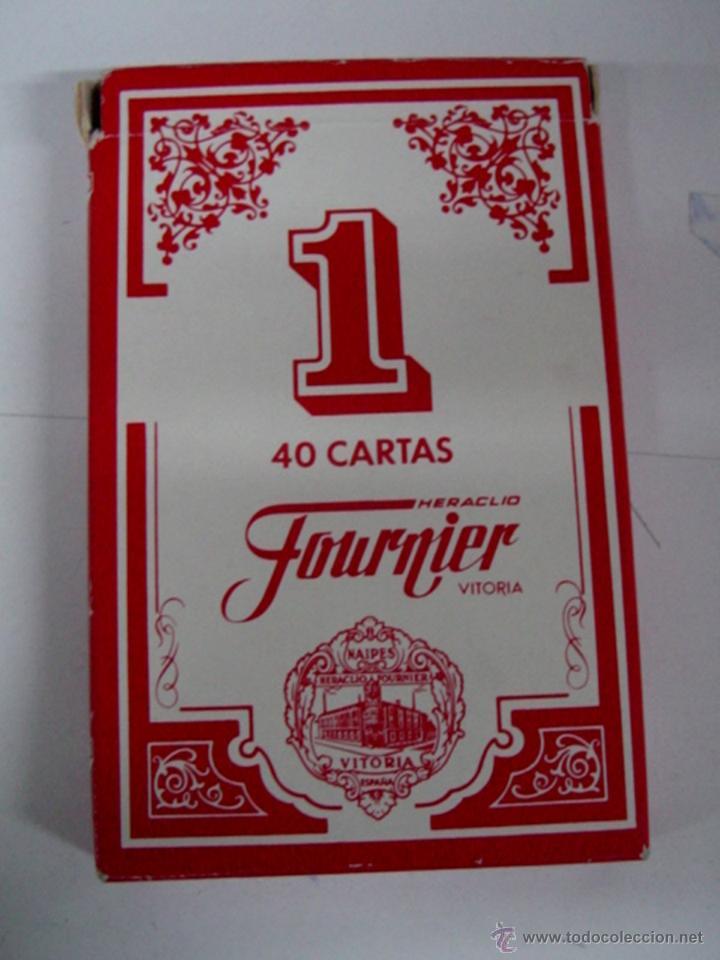 ANTIGUA BARAJA DE CARTAS - 40 CARTAS - BARAJA ESPAÑOLA - POR HERACLIO FOURNIER, VITORIA - OLD DECK O (Juguetes y Juegos - Cartas y Naipes - Otras Barajas)
