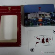 Barajas de cartas: ANTIGUA BARAJA DE CARTAS - POKER, CON PUBLICIDAD DE CASINO DE HULL (QUEBEC) - COMPLETA - OLD DECK OF. Lote 38265030