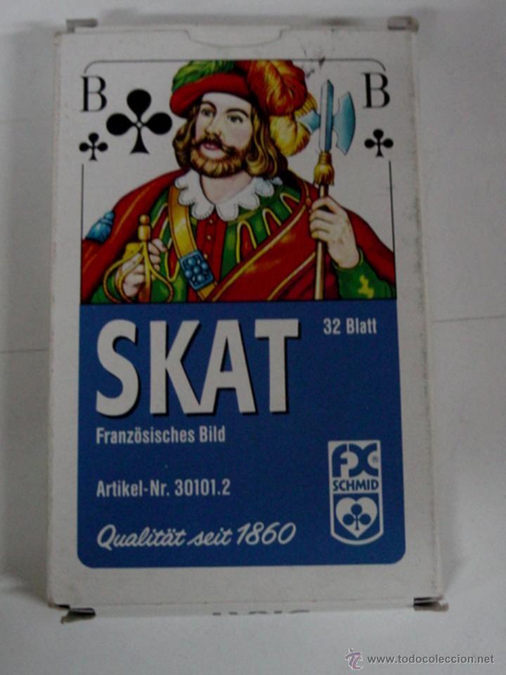 ANTIGUA BARAJA DE CARTAS - 32 CARTAS SKAT - COMPLETA - OLD DECK OF CARDS. (Juguetes y Juegos - Cartas y Naipes - Otras Barajas)