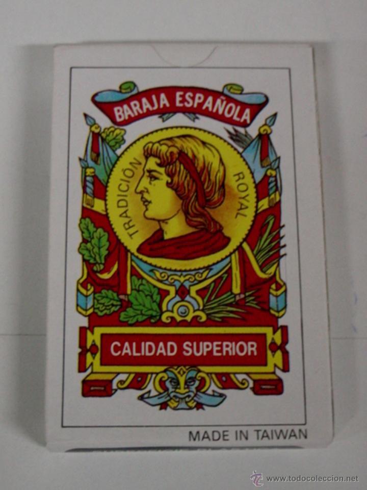 ANTIGUA BARAJA DE CARTAS - BARAJA ESPAÑOLA 40 CARTAS - COMPLETA SIN ABRIR - OLD DECK OF CARDS. (Juguetes y Juegos - Cartas y Naipes - Otras Barajas)