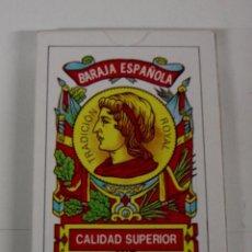 Barajas de cartas: ANTIGUA BARAJA DE CARTAS - BARAJA ESPAÑOLA 40 CARTAS - COMPLETA SIN ABRIR - OLD DECK OF CARDS.. Lote 38265155